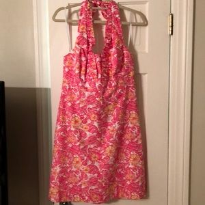 NWT Lilly Pulitzer halter dress size 12